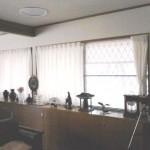 レースカーテンでリビングの遮熱対策とプライバシー保護 兵庫県芦屋市