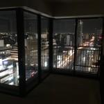 大きな窓に合うオーダーレースのプルミエ~天王寺タワーマンション~