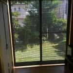 天然木材で風通し抜群!和室の縁側に豪華な経木すだれを取り付け 神戸市