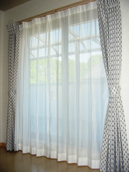 ミラーレースカーテン