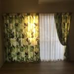 引越し先の窓に合わせてオーダーカーテンの寸法直し(丈伸ばしと幅詰め) 大東市