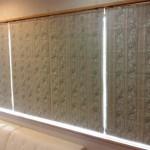 裏地付きのシェードカーテンに交換して遮光性能アップ 奈良県生駒市