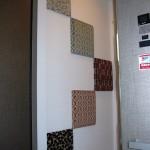 玄関の壁にアクセント!組み合わせ自由なパネルでオシャレに変身