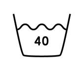 40度限度、普通洗濯