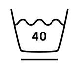 40度限度、弱い洗濯