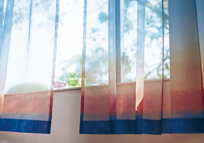 朝焼け ボイルカーテン-min