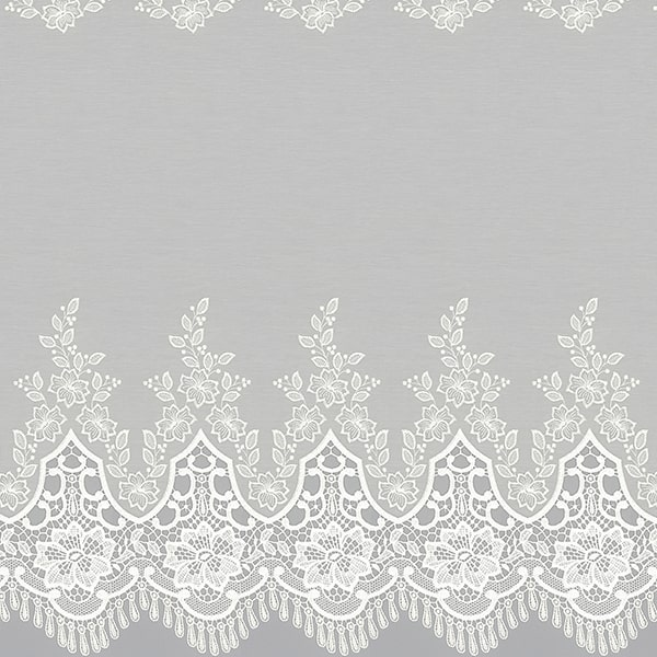 川島織物セルコン レースカーテン3 刺繡アップ